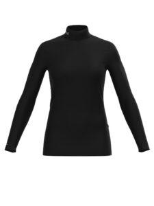 Under Armour dames ColdGear® Infrared Mock zwart
