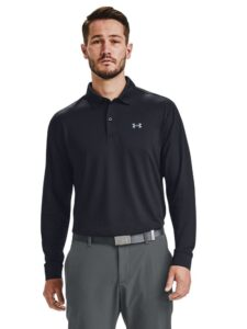 Under Armour heren golfpolo Performance zwart