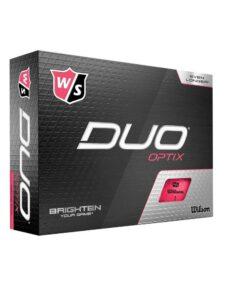 Wilson Staff golfballen Duo Optix roze