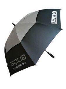 Big Max golfparaplu Aqua UV grijs-zilver