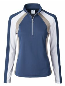 Daily Sports dames golfpully Roxa baltic blue