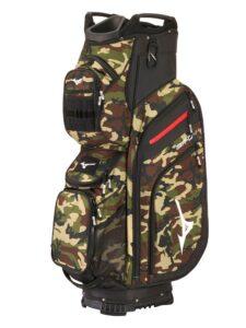 Mizuno golftas BR-D4 14W Cart Bag zwart-groen-camo