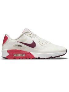Nike unisex golfschoenen Air Max 90 G wit-rood