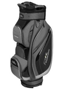Powakaddy golftas Premium Edition Cart Bag grijs-zwart