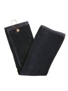Silverline golfhanddoekje zwart