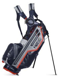 Sun Mountain golftas H2NO Lite Stand Bag navy-grijs-rood