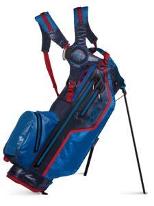 Sun Mountain golftas H2NO Lite Stand Bag navy-rood