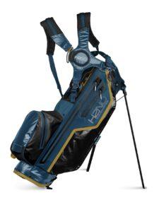 Sun Mountain golftas H2NO Lite Stand Bag blauw-zwart-geel