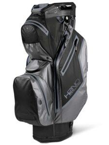 Sun Mountain goltfas H2NO Staff Cart Bag zwart-grijs