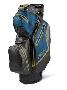 Sun Mountain goltfas H2NO Staff Cart Bag zwart-blauw-geel