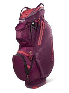 Sun Mountain golftas Stellar 14 EWP Cart Bag rood