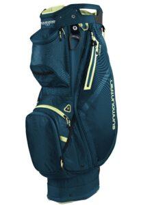Sun Mountain golftas Stellar 14 EWP Cart Bag blauw-lime