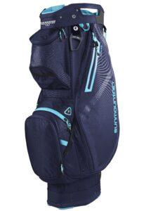 Sun Mountain golftas Stellar 14 EWP Cart Bag blauw-blue
