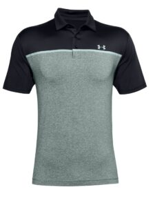 Under Armour heren golfpolo Playoff 2.0 Anthracite