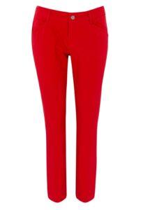 Alberto dames golfpantalon Mona-L Rain&Wind Fighter rood