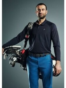 Alberto heren golfpantalon Nick-D-T Rain&Wind Fighter blue