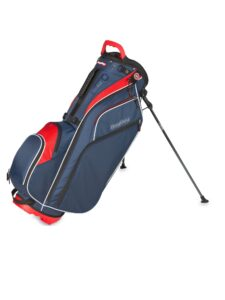 BagBoy golftas GO Lite-Hybride TL blauw-rood-wit
