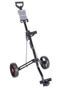 Fastfold golftrolley Eco 2-wiel zwart