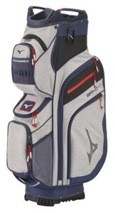 Mizuno golftas BR-D4 14W Cart Bag grijs-blauw