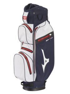 Mizuno golftas BR-DRI WP Cart Bag blauw-wit