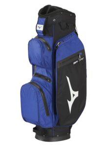 Mizuno golftas BR-DRI WP Cart Bag blauw zwart