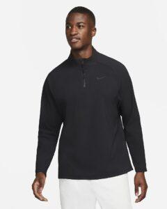 Nike heren golfjack Repel Vapor HZ zwart