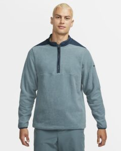 Nike heren golfsweater Therma-Fit Victory groen