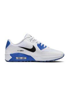 Nike unisex golfschoenen Air Max 90 G wit-blauw