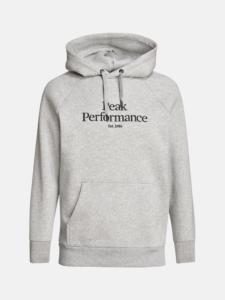 Peak Performance heren golfsweater Original Hood grijs